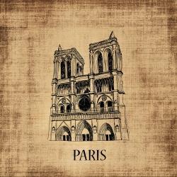 Notre-dame de paris illustration