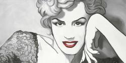 Vintage style marilyn monroe