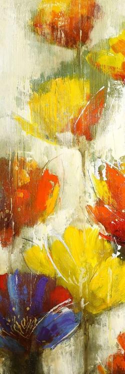 Modern yellow flowers