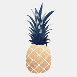 Sparkling gold pineapple