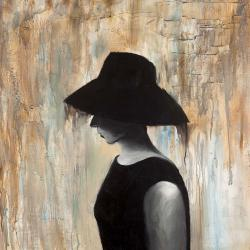 Lady with a big hat