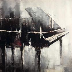 Piano de style industriel