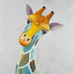 Girafe colorée
