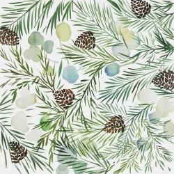 Pine cone pattern