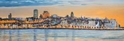 Skyline of quebec city
