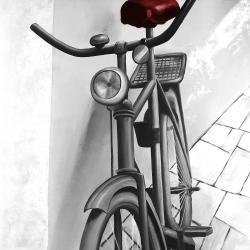 Bicyclette abandonnée