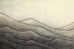 Montagnes désaturés