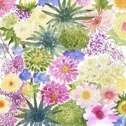 Ensemble de fleurs exotiques