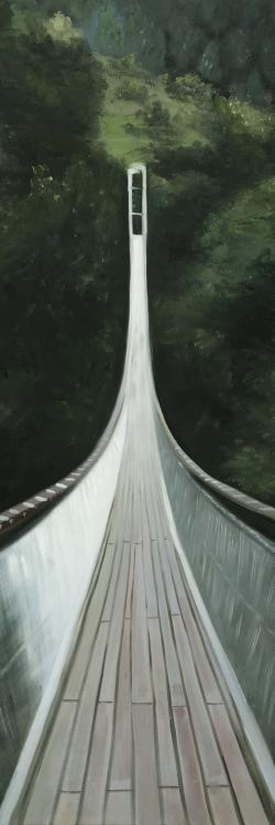 Steep bridge