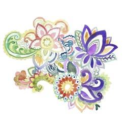 Paisley watercolor
