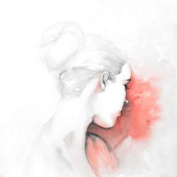 Pastel woman