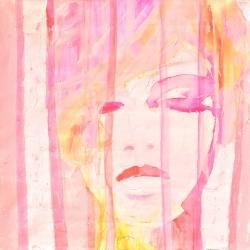 Portrait abstrait féminin