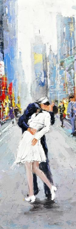 Kiss of times square