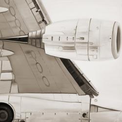 Dessous d'avion