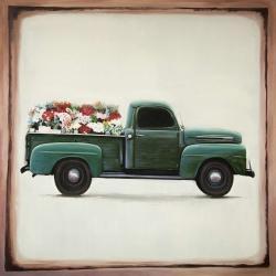 Camion de fleurs
