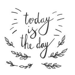 C'est aujourd'hui le jour
