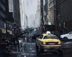 New york in the dark