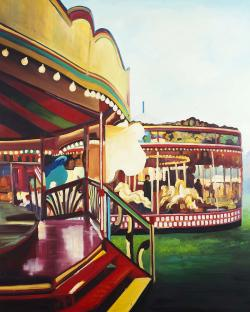 Carousel in a carnaval