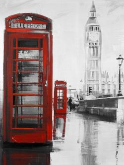 Red phonebooth with the big ben
