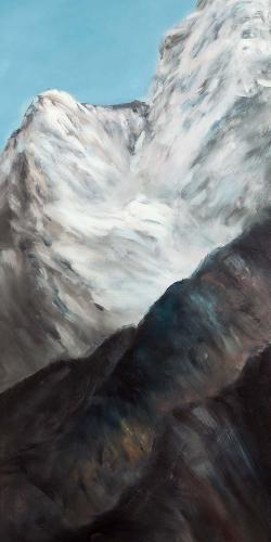 Emblematic himalayan peaks