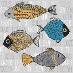 Illustration de poissons