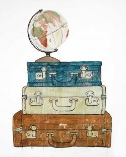 Go around the world