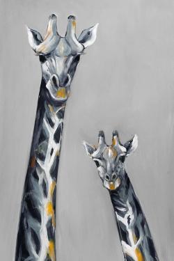 Steel blue giraffe