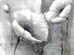 Industrial monochrome flowers