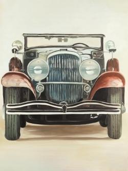 Old 1920s luxury car