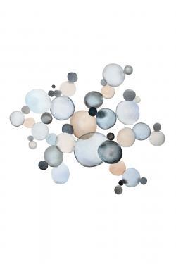 Grayish bubbles
