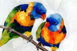 Couple of parrots