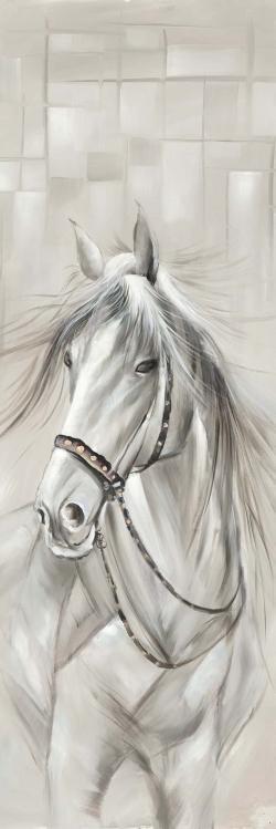 Worthy white horse