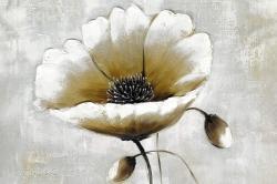 Modern beige flower