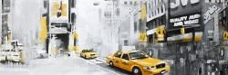 New york city with taxis