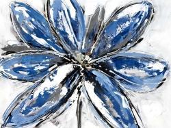 Blue petal