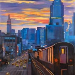 Métro à new-york