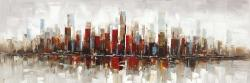 Abstract colorful skyscrapers