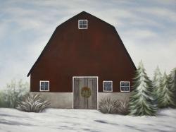 It's winter on the farm