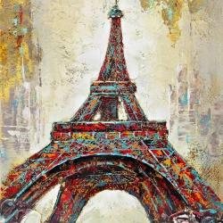 Abstract eiffel tower
