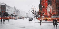 Classic street scene