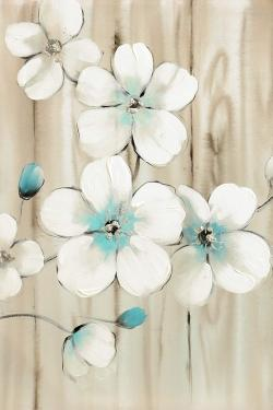 Cherry blossom in white