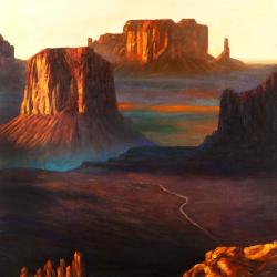Monument valley tribal park in arizona