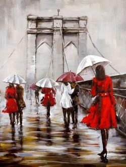 Walk on the brooklyn bridge