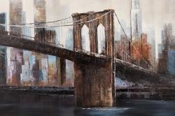 Urban brooklyn bridge