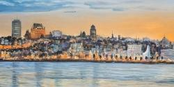 Skyline of quebec city