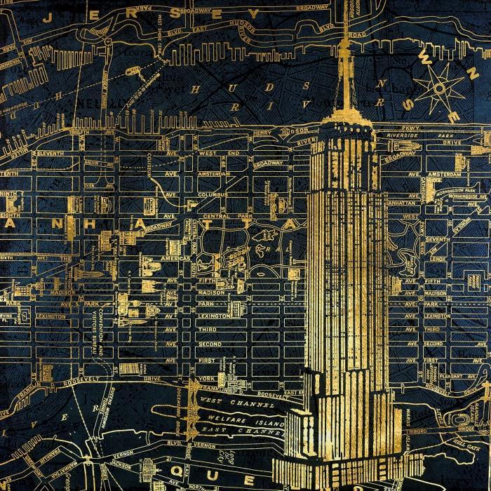 Schéma de ville dorée