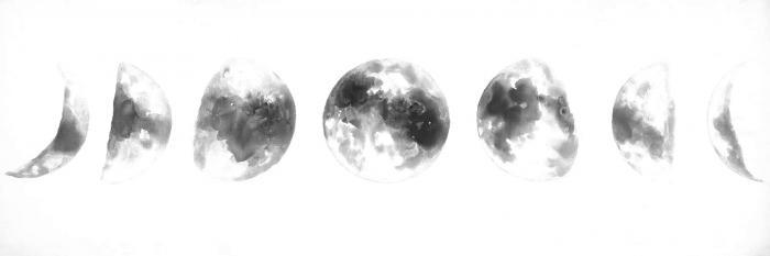 éclipse en plusieurs phases