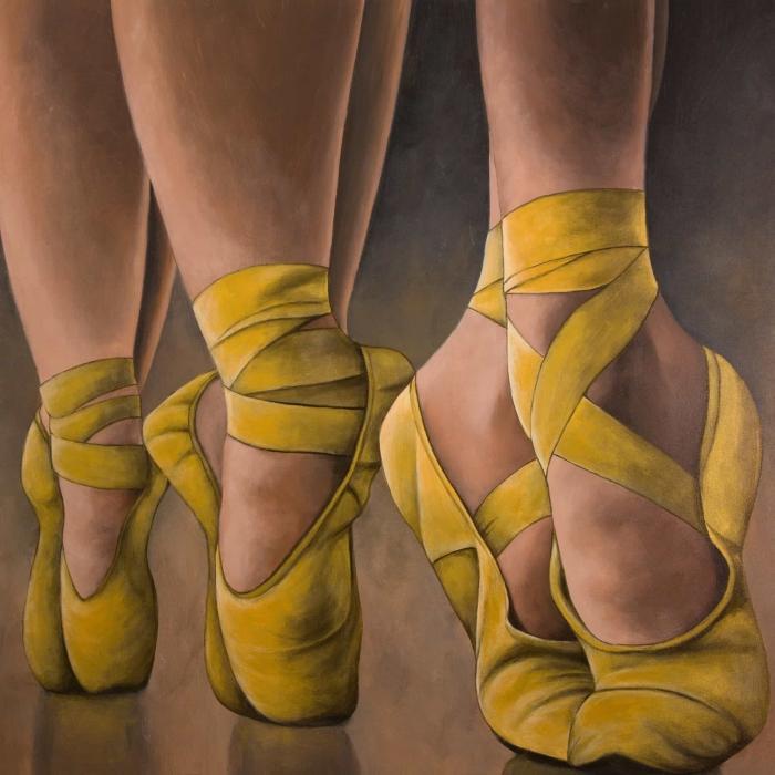 Ballerines synchronisées