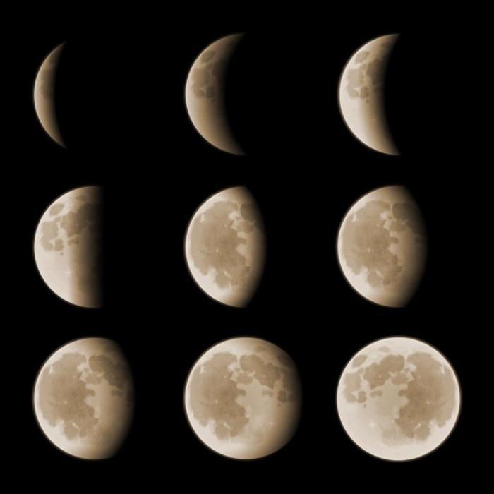 éclipse en neuf phases
