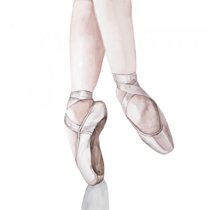 Pieds de ballerine